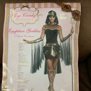 Halloween costume Egyptian Goddess